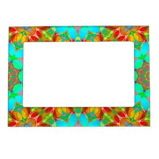 Magnetic Frame Floral Fractal Art G410