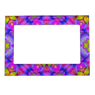 Magnetic Frame Floral Fractal Art G445