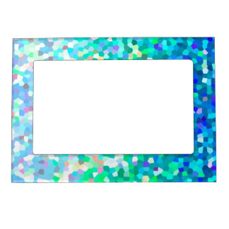 Magnetic Frame Mosaic Sparkley Texture