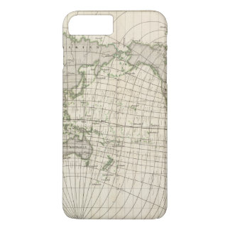 Magnetic Map of the World iPhone 7 Plus Case