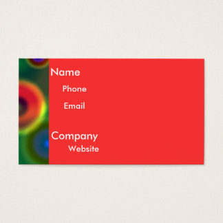 Magnetic Moon Business Card