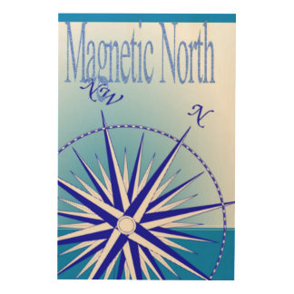 Magnetic North Wood Canvases