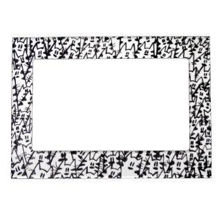 Magnetic photo frame - Gatos 09