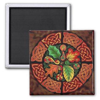 Magnets: Celtic Fall Square Magnet