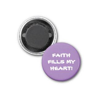 Magnets Fridge Magnet cute FAITH FILLS MY HEART!