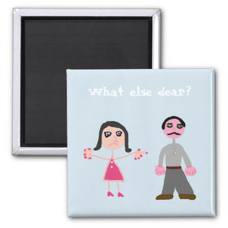 Magnets humour marriage