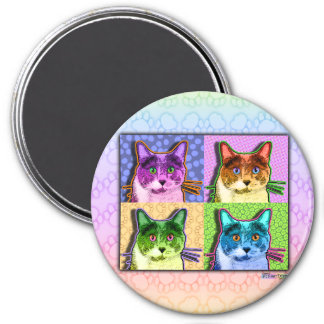 Magnets - Pop Art Cat