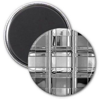 Magnets Shades of Gray Glass Mosaic