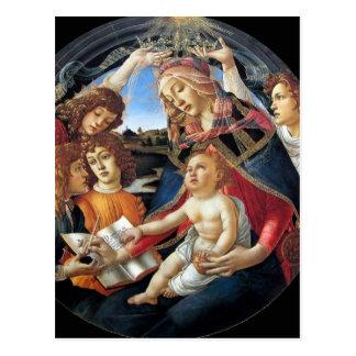Magnificat Madonna Postcard