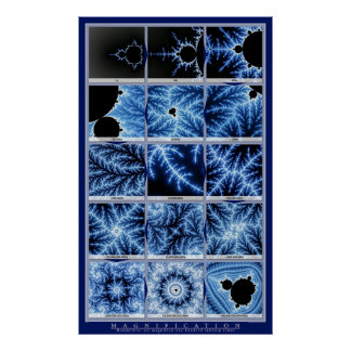Magnification - Blue Posters