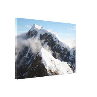 Magnificent Alaska Range, Alaska, USA Canvas Print