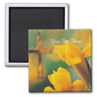 Magnificent Blessed & Wonderful Easter Wishes! Square Magnet