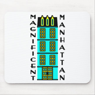 Magnificent Manhattan With Luxury NYC Townhouse Mousepad