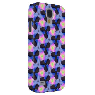 Magnificent one of a kind glowing geometric print samsung galaxy s4 case