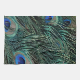 Magnificent Peacock Feathers Towels