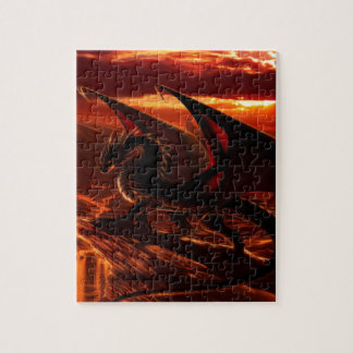 Magnificent Red Dragon Jigsaw Puzzle