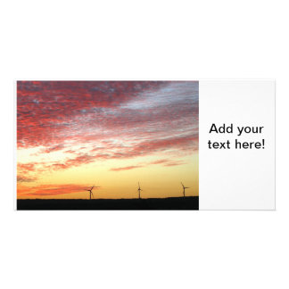 Magnificent Sky and Wind Generators Photo Card