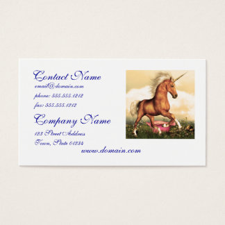 Magnificent Unicorn Business Card