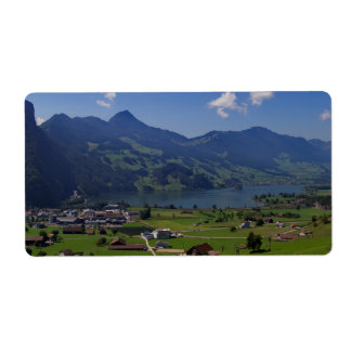 Magnificent view on the region of Lucerne