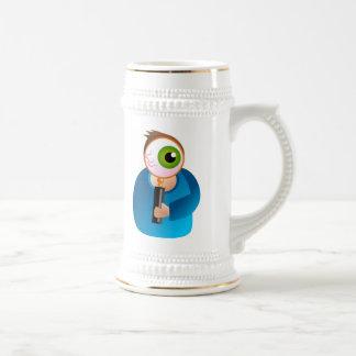 Magnify Man Mugs