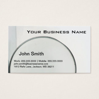 Magnifying Glass Business card