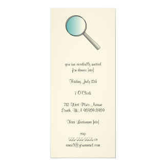 Magnifying Glass Private Investigations Card