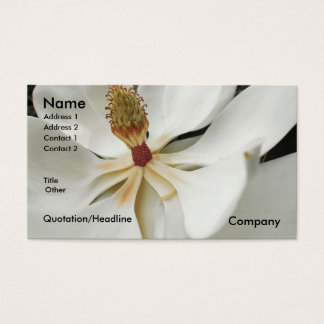 MAGNOLIA 3 BUSINESS CARD