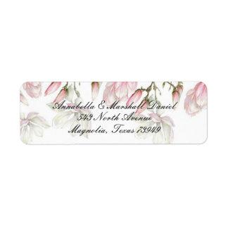 Magnolia Address Lables Return Address Label