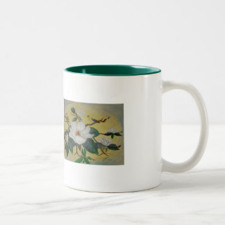 Magnolia and Goldfinch Mug