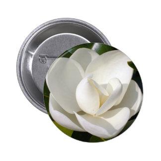 Magnolia Bloom 6 Cm Round Badge