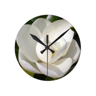 Magnolia Bloom Clocks