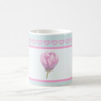 Magnolia Bloom in Watercolour Coffee Mug
