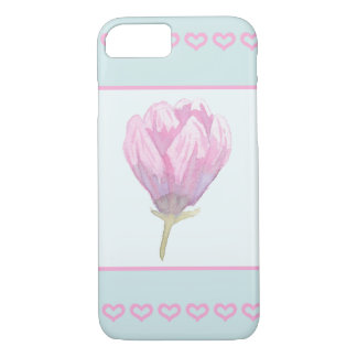 Magnolia Bloom in Watercolour iPhone 7 Case