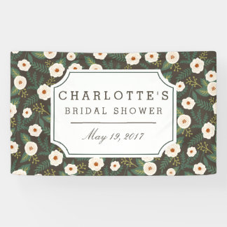 Magnolia Blossoms Bridal Shower Banner