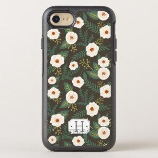 Magnolia Blossoms Monogram OtterBox Symmetry iPhone 8/7 Case