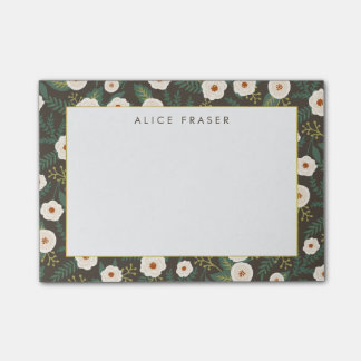 Magnolia Blossoms Personalized Post-it Notes