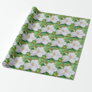 Magnolia Blossoms Wrapping Paper