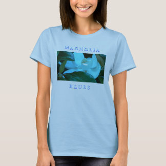Magnolia Blues-Blue T-Shirt