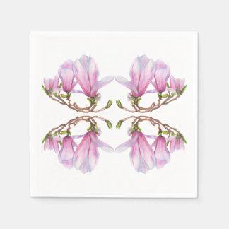Magnolia Disposable Serviettes
