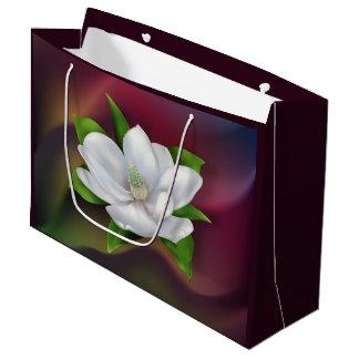 Magnolia Flower Large Gift Bag