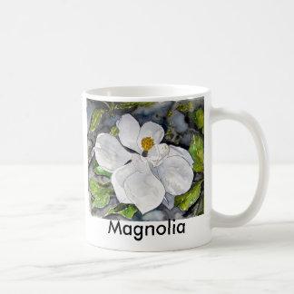 magnolia_flower_painting, Magnolia Coffee Mug