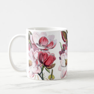 Magnolia Flowers Coffee Mug