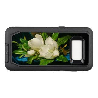 Magnolia Flowers Defender Samsung Galaxy S8 Case