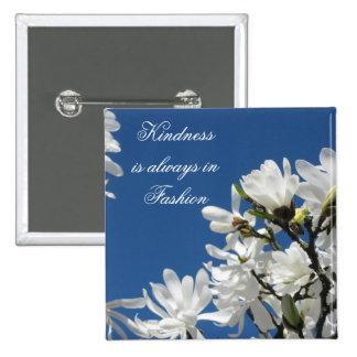 Magnolia Kindness Button