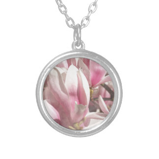 Magnolia photographed by Tutti Silver Plated Necklace