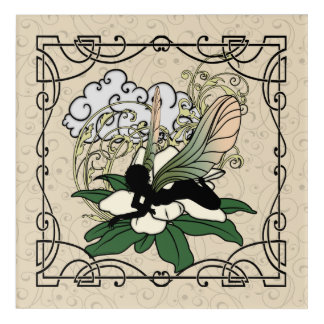 Magnolia Shadow Fairy Acrylic Wall Art