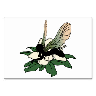 Magnolia Shadow Fairy Card