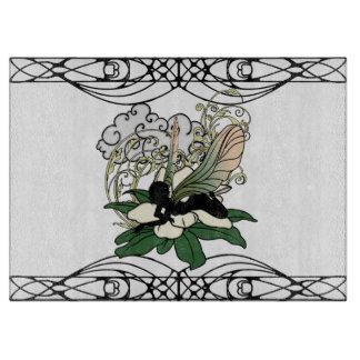Magnolia Shadow Fairy Cutting Board