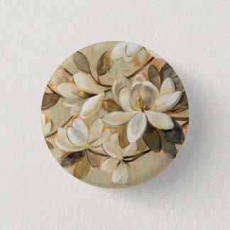 Magnolia Simplicity Cream 3 Cm Round Badge