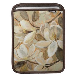 Magnolia Simplicity Cream iPad Sleeve